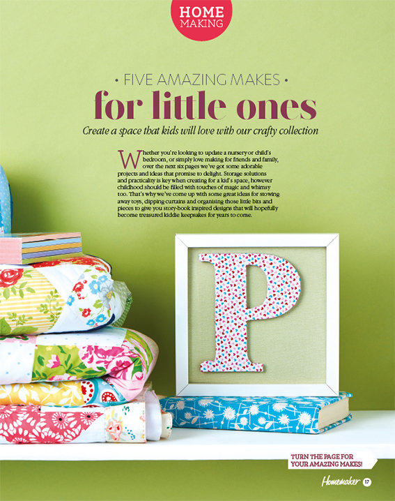 Amazing makes for little ones. Text and styling, Ella Johnston. Photography Cliqq Photography