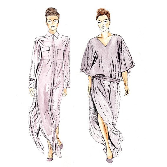 London Fashion Week DAKS  2014 (c) Ella Johnston