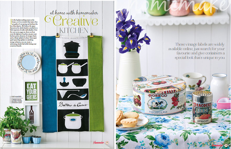At Home With Homemaker Kitchen Updates. Styling, Ella Johnston. Photography Cliqq Photography.
