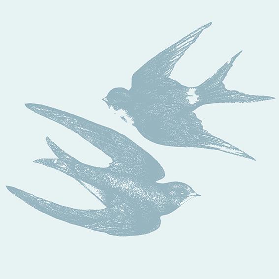 Vintage style summer birds (c) Ella Johnston