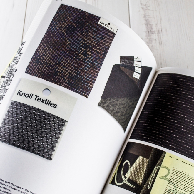 Knoll Textiles book via http://www.ellasplace.me